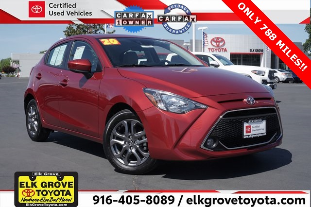 Toyota Yaris Hatchback Under 500 Dollars Down
