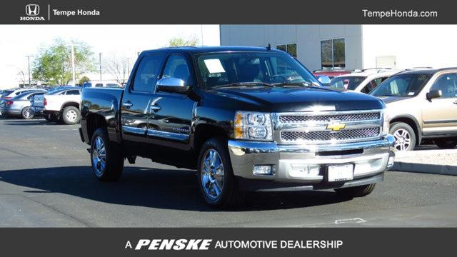 2013 Chevrolet Silverado 1500 Crew Cab Short Box 2 Wheel Drive LT