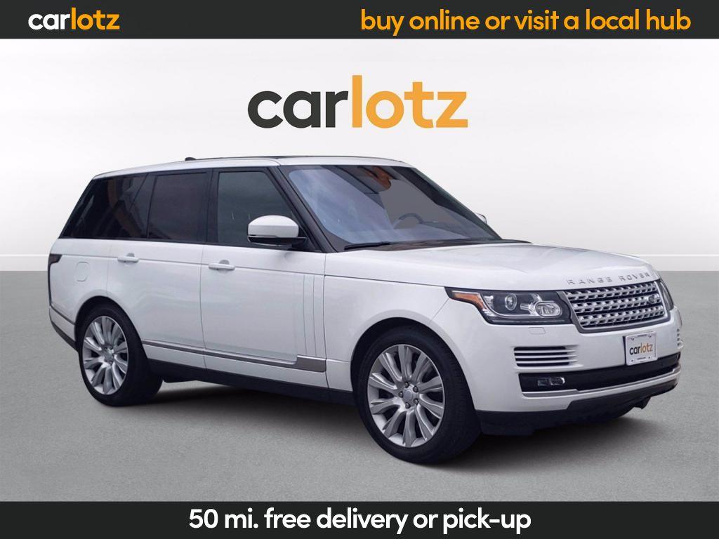 2017 Land Rover Range Rover  photo