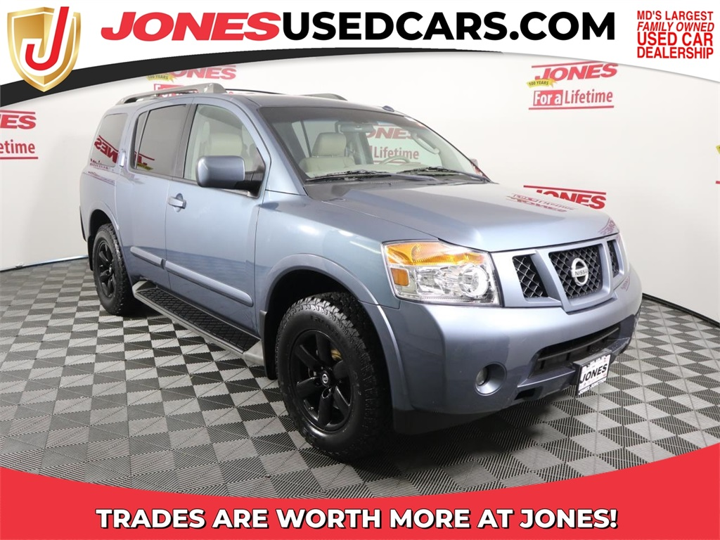 Nissan Armada Under 500 Dollars Down
