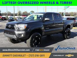 2012 Toyota Tacoma 4WD Double Cab Short Bed V6 Automatic (Natl)