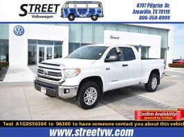 2016 Toyota Tundra Double Cab 5.7L FFV V8 6-Spd AT SR5