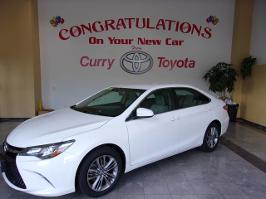 2016 Toyota Camry and
