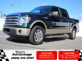 2013 Ford F-150 SuperCrew Lariat V6