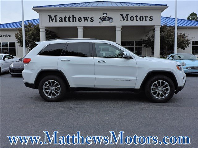 2015 Jeep Grand Cherokee Limited In Clayton Nc Used