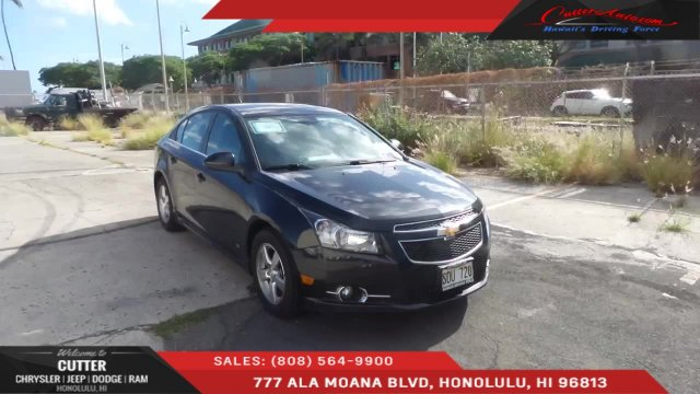 Cutter Dodge Honolulu >> Check Out This 2012 Chevrolet Cruze Lt Should I Get It