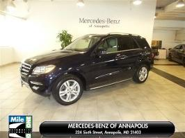 Used mercedes benz ml for sale in baltimore md u s for Mercedes benz dealer in annapolis md